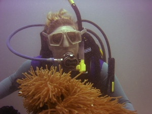 This is the last photo on my underwater camera taken in the Philippines.