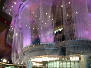 Chandelier Bar at the Cosmopolitan, Las Vegas©Jean Janssen