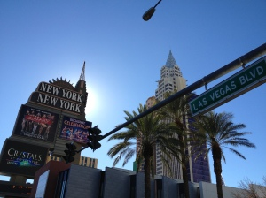 The Chrysler Building from Las Vegas Boulevard.©Jean Janssen