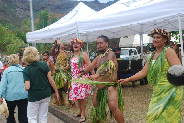Welcome to the Marquesas Archipolago in French Polynesia.©Jean Janssen