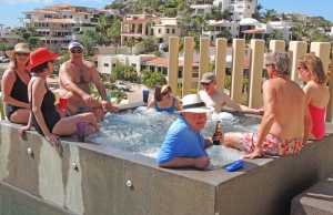 Hot Tub Party, Cabo San Lucas.©Robert Kochman