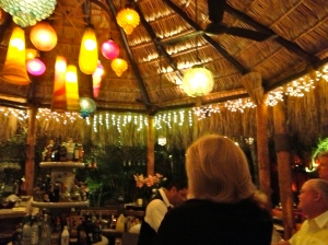 The bar at Edith's in Cabo San Lucas, Baja, Mexico.©Jean Janssen