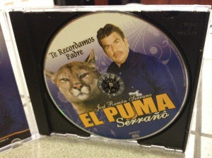My el Puma CD.  Unfortunately, it does not contain the trademark growl.©Jean Janssen