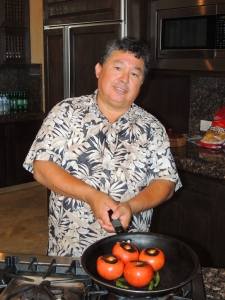 """Our chef, Fortunato, or """"our hero"""" as Bob referred to him.©Robert Kochman"""