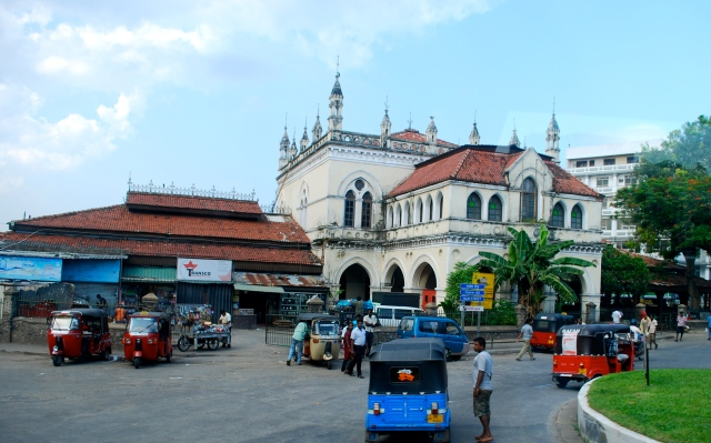 Old City Hall in the Pettah district of Colombo, Sri Lanka.  It was built in 1865 during the British era. ©Jean Janssen