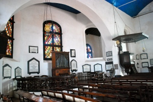 The Dutch Reformed Church built in 1755 at the  Dutch Fort in Galle, Sri Lanka.  The pulpit and organ are original. ©Jean Janssen