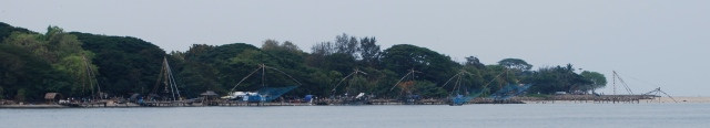 Chinese Fishing Nets, Kochi, India. ©Jean Janssen