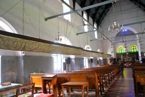 fans in St. Francis Church, Fort Kochi, India. ©Jean Janssen