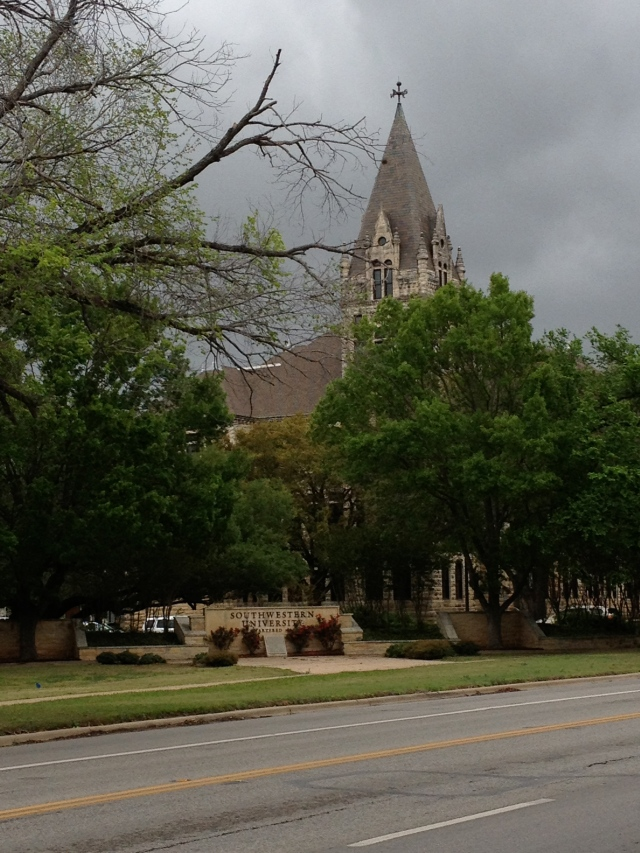 The iconic Cullen Building at Southwestern University in Georgetown, Texas©Jean Janssen