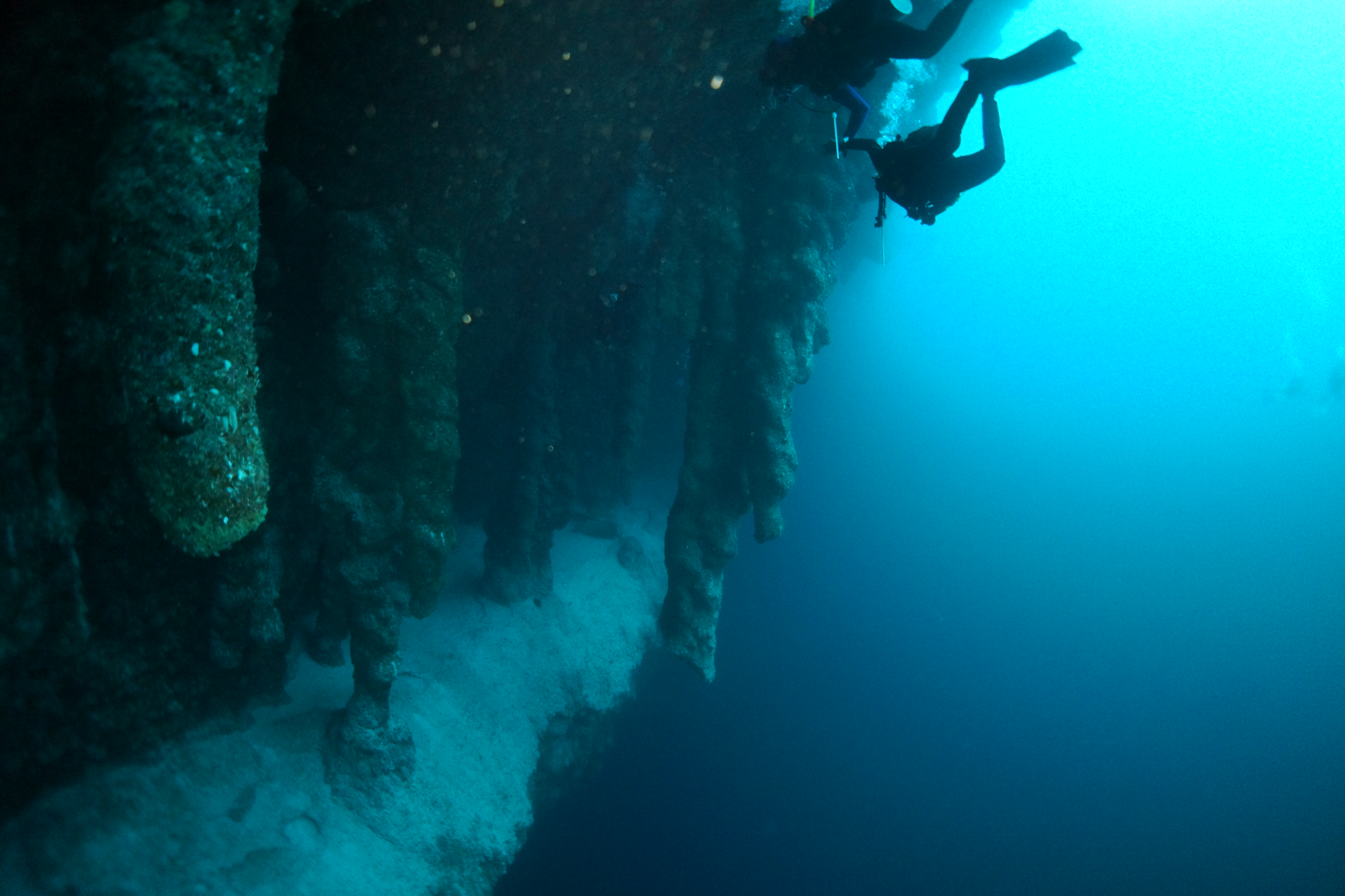 Have faced Great blue hole belize diving
