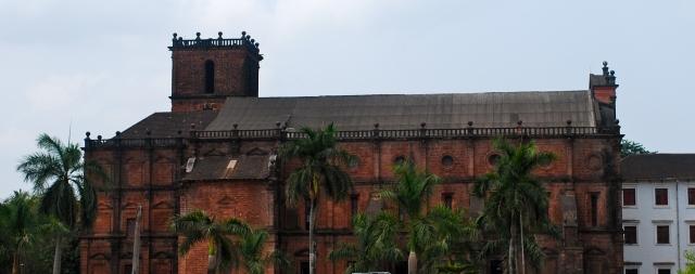 Basilica of the Bom Jesus, Old Goa, India. ©Jean Janssen