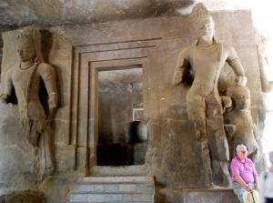 Elephanta Caves dedicated to Shiva, a Hindu deity. ©Jean Janssen