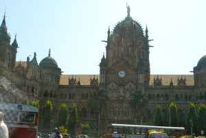 The Sv, Terminus train station in Mumbai, a UNESCO World Heritage Site. ©Jean Janssen