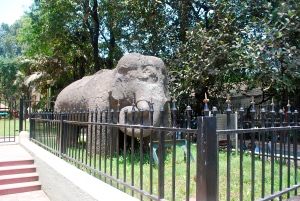 The Elephant statute from which Elephanta Island gets its name is now displayed outside the Mumbai City Museum. ©Jean Janssen