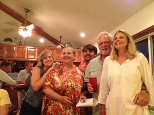 Award winners-Debbie, Dive Mom, Ted, Fred, and Janet. ©Jean Janssen