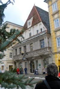 Oldest building in Steyr, Austria. ©Jean Janssen