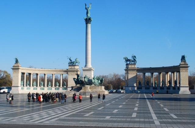 Hero's Square, Budapest