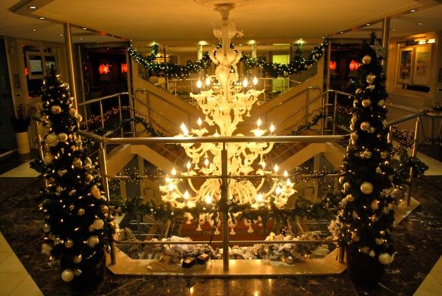 Christmas aboard Uniworld's River Beatrice. ©Jean Janssen
