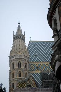 Spire of St. Stephen's Vienna, Austria ©Jean Janssen