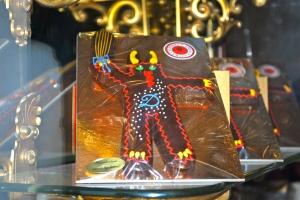The chocolate (less frightening version) of the Krampus. ©Jean Janssen