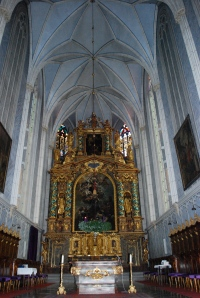 Altar in the church at Gottweig Abbey, Krems, Wachau Valley, Austria ©Jean Janssen