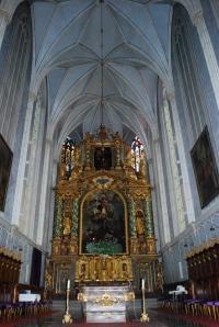 Altar in the church at Gottweig Abbey, Krems, Wachau Valley, Austria ©Jean Janssen