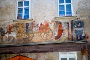 Wall Fresco, Krems, Wachau Valley, Austria ©Jean Janssen