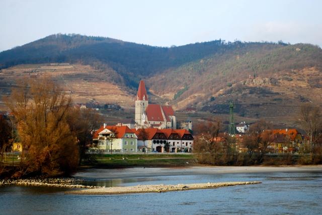 Monastery Church at Weissenkirchen, Wachau Valley, Austria ©Jean Janssen