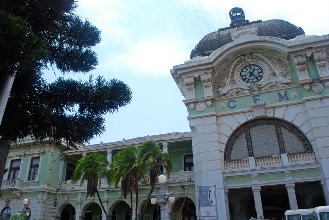 Maputo, Mozambique, Station station designed by Eiffel. ©Jean Janssen