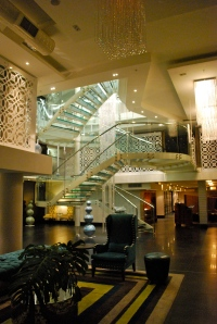 The Doubletree Lobby, Upper Eastside, Cape Town, South Africa. ©Jean Janssen