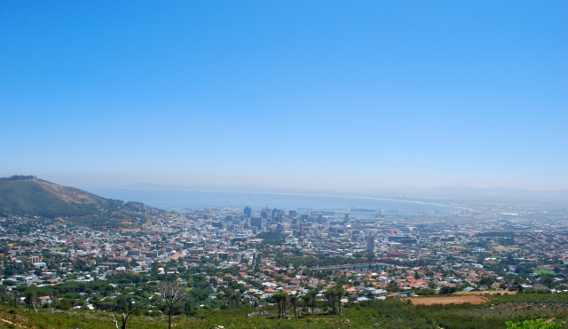view of Cape Town from Table Mountain ©Jean Janssen
