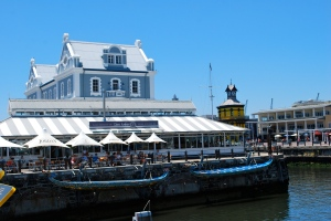 Our lunch spot der anders  at the Waterfront, Cape Town, South Africa ©Jean Janssen