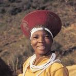 Boris got me one of these traditional Zulu hats.