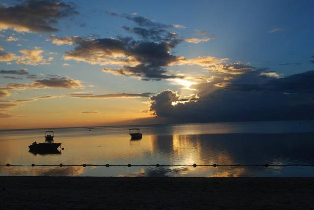 Sunset in Mauritius ©Jean Janssen