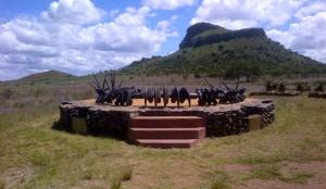 Zulu Monument at Isandlwana