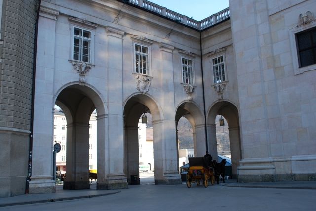 Archway* between Residenzplatz and Domplatz, Salzburg. ©Jean Janssen