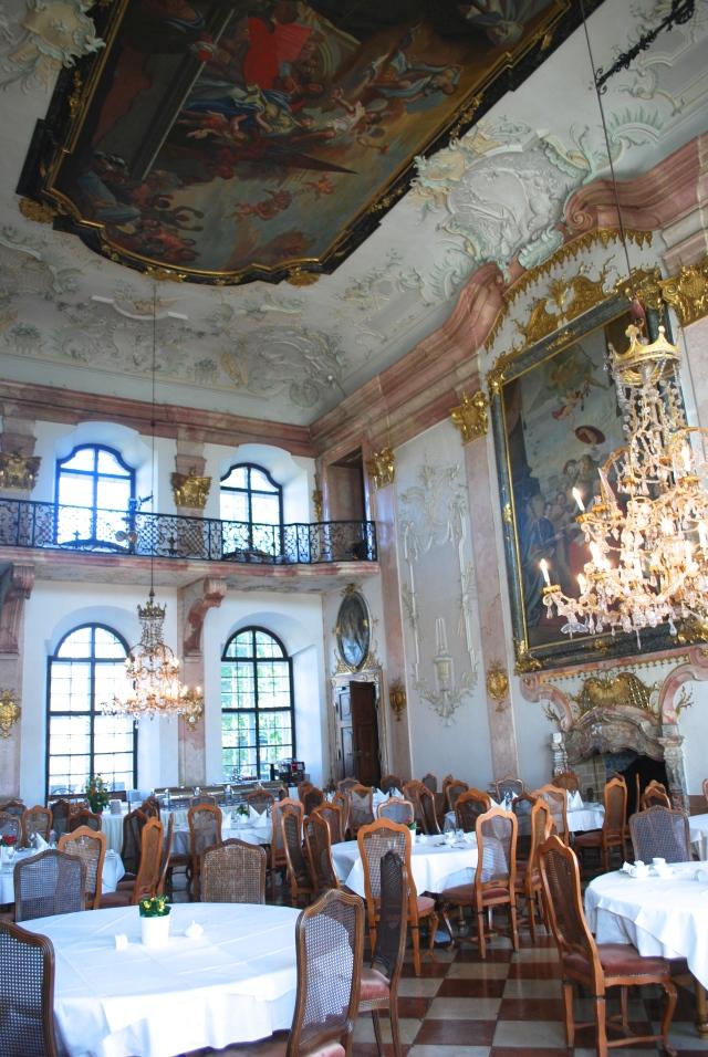 The Marble Room, Schloss Leopoldskron, Salzburg, Austria. ©Jean Janssen