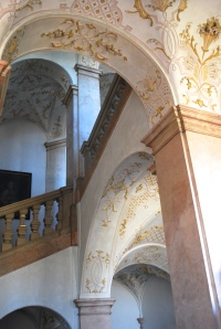 The staircase, Schloss Leopoldskron, Salzburg, Austria. ©Jean Janssen