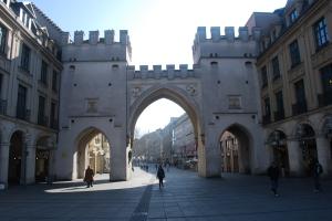 Old City Gate, Munich, Germany ©Jean Janssen