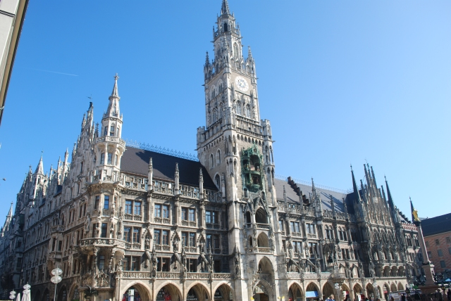 The Rathaus (City Hall) Munich, Germany