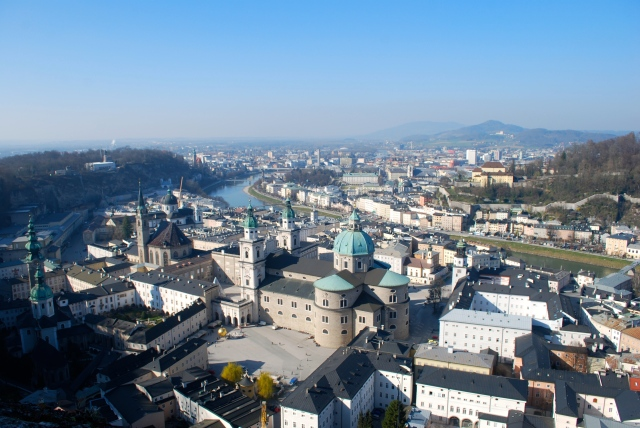View of Salzburg from the fortress. ©Jean Janssen