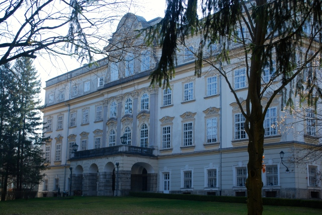 Schloss Leopoldskron, commissioned  by the Prince Archbishop of Salzburg in 1736 ©Jean Janssen