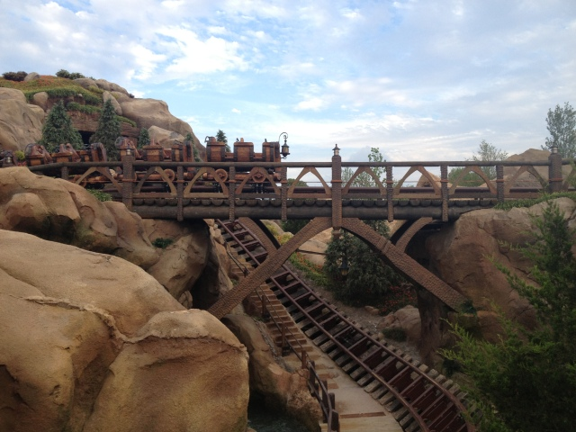 The new Seven Dwarfs Mine Train Ride opened this week in Fantasyland, the Magic Kingdom, Walt Disney World. ©Jean Janssen