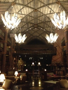 Our home away from home for this trip was the Animal Kingdom Lodge at WDW.  Although a deluxe resort, I generally get 30% off as an annual pass holder.  That said, I have stayed at all levels of resorts at WDW and highly recommend on-site accommodations at any level. ©Jean Janssen