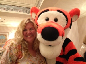 This one if for Emma who reads the blog and loves Tigger.