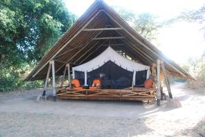 ©Jean Janssen Our tent at Jongomero, Ruaha National Park, Tanzania.
