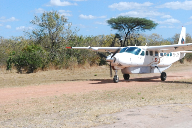 @Jean Janssen  Our  Plane to Selous Game Reserve, Tanzania