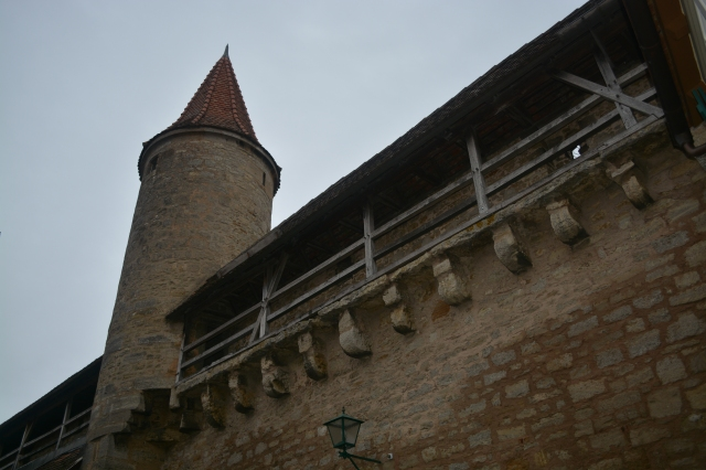 Along the outer walls, Rothenburg, Germany ©Jean Janssen