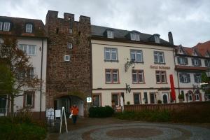 Converted city walls in Wertheim, Germany ©Jean Janssen