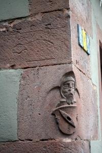 medieval carvings, Wertheim, Germany ©Jean Janssen